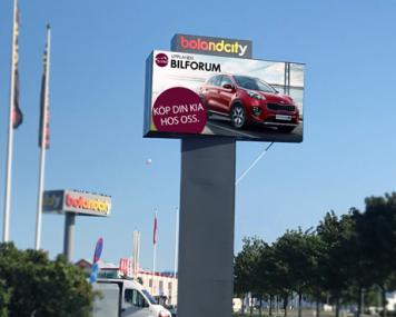 boland skärm reklam
